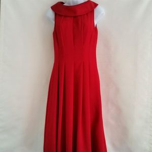 Talbots Red Dress Size 4
